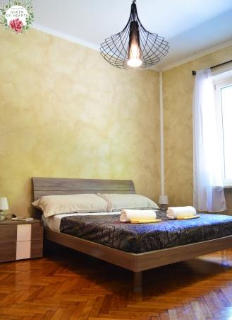 Camera da letto con letto matrimoniale 160x190 cm